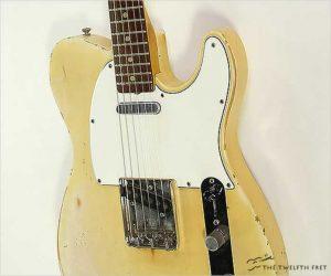 ❌SOLD❌ Fender Telecaster Rosewood Neck Blonde, 1966