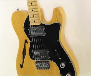 Fender Telecaster Thinline Guitar Natural, 1978