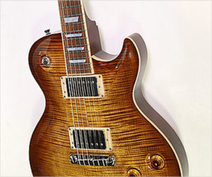 Reduced!  Fibenare Basic Jazz Single Cut Standard Amber Burst, 2012 REDUCED