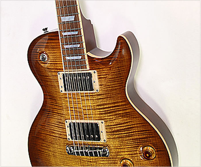 Fibenare Basic Jazz Single Cut Standard Amber Burst, 2012 - The Twelfth Fret