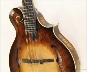 Fin Mc 8 F-Style Mandolin Sunburst by Fintan McEnroe, 2020 - The Twelfth Fret