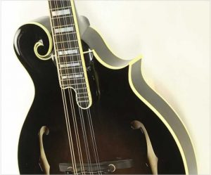 Flatiron F5 Custom Mandolin Blackburst, 1996 - The Twelfth Fret