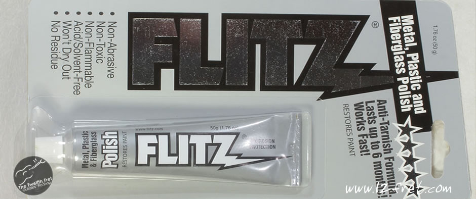 Flitz Metal, Plastic and Fiberglass Polish - The Twelfth Fret