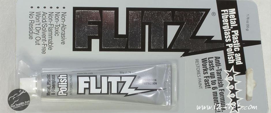 Flitz Metal, Plastic and Fiberglass Polish - The Twelfth Fret