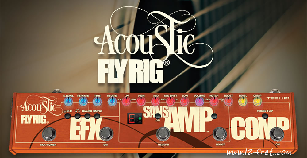The Fly Rig Series From Tech 21 - The Twelfth Fret
