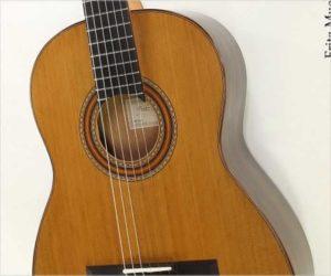 ❌SOLD❌ Fritz Mueller Classical Doubletop Guitar Ziricote, 2013