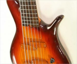 ❌SOLD❌ Furlanetto F Bass 6 String Sunburst, 1989