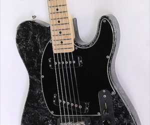 SOLD!!! G&L ASAT Special Black Silver Swirl Finish, 1996