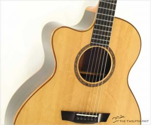 GW Barry Concert LH CW Brazilian Rosewood, 2017 - The Twelfth Fret