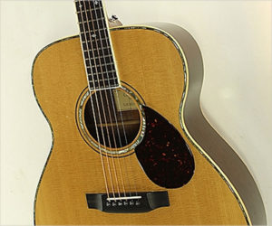 Sold!  G W Barry M-Body Steel String Acoustic Guitar, 1998