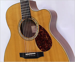 SOLD!!! G. W. Barry M body Cutaway Guitar, 1995