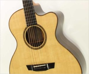 G W Barry Mod-C Ziricote Cutaway Steel String Guitar, 2018 - The Twelfth Fret