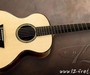 G.W. Barry Modified Concert Zircote Steel String Guitar