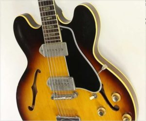 Gibson ES-330 TD Thinline Archtop Guitar Sunburst, 1963 - The Twelfth Fret
