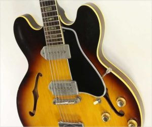 NO LONGER AVAILABLE!!! Gibson ES-330 TD Thinline Archtop Guitar Sunburst, 1963