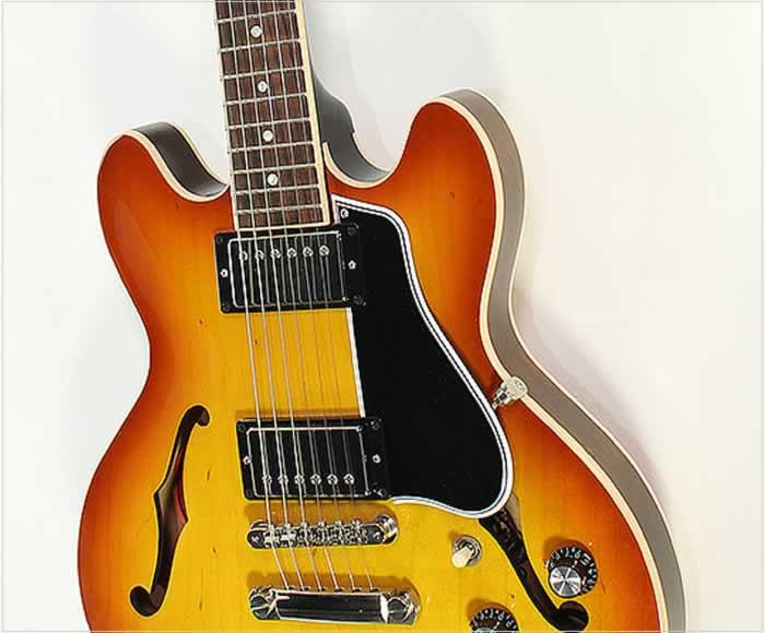 Gibson-ES-339-Thinline-Archtop-Electric-Caramel-Sunburst-2010 The Twelfth Fret