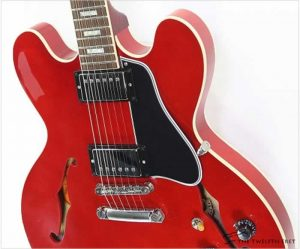Gibson 1963 ES335 Block Reissue Cherry, 2018 - The Twelfth Fret