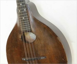 Gibson A Jr Model Junior A-Style Mandolin Sheraton Brown, 1924 - The Twelfth Fret