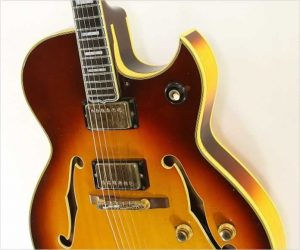❌SOLD❌ Gibson Byrdland Florentine Cutaway Sunburst, 1968