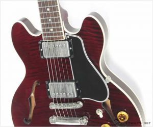 Gibson CS336 Compact Thinline Archtop Electric Burgundy, 2001 - The Tweflth Fret