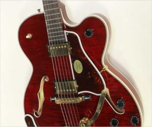 SOLD!!! Gibson Chet Atkins Country Gentleman Translucent Red,  2001