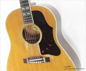 Gibson Country Western Model Natural, 1957 - The Twelfth Fret