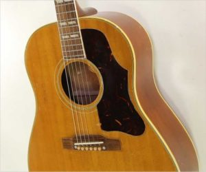 NO LONGER AVAILABLE!!! Gibson Country Western Model SJ Natural, 1956