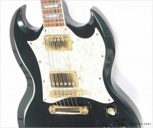 ⚌Reduced‼ Gibson Custom Shop SG Metallic Emerald Green, 1993