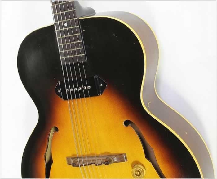 Gibson ES-125 Archtop Electric Guitar Sunburst, 1954 - The Twelfth Fret