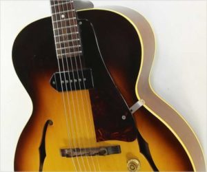 Gibson ES-125 Archtop Electric Guitar Sunburst, 1961