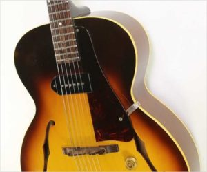 Sold!  Gibson ES-125 Archtop Electric with P-90, Sunburst 1961