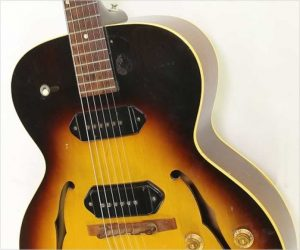 ❌SOLD❌ Gibson ES-125D Archtop Electric Non Cutaway Sunburst, 1957
