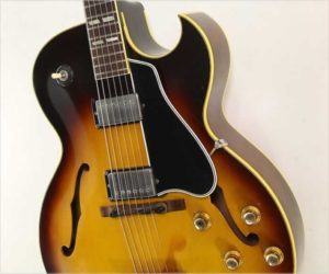 SOLD!!! Gibson ES-175 Archtop Electric Guitar Sunburst, 1962