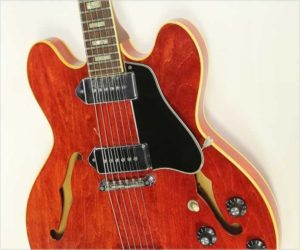 Gibson ES-330 TDC Thinline Archtop Cherry Red, 1970-1972
