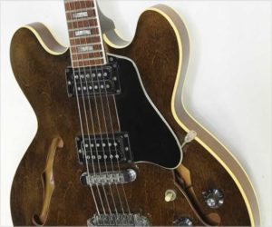 ❌SOLD❌ Gibson ES-335TD Thinline Electric Guitar Walnut, 1975