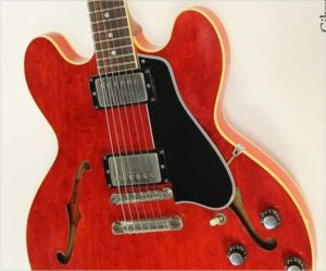 Gibson ES-335 TDC Dot Neck Thinline Cherry, 1961 - The Twelfth Fret