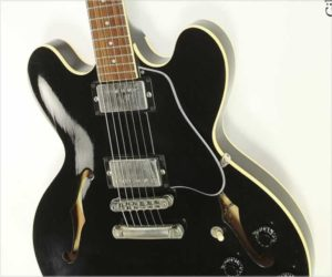 ❌SOLD❌  Gibson ES-335 Thinline Archtop Electric Black, 1988