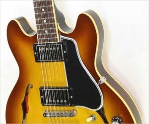 Sold!  Gibson ES-339 Thinline Archtop Custom Shop Sunburst, 2011