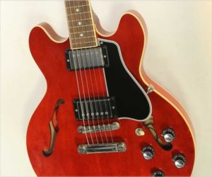 ❌SOLD❌ Gibson ES-339 Thinline Custom Shop Cherry, 2008