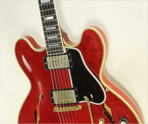 ❌SOLD❌ Gibson ES-355 Mono with Sideways Vibrola, Cherry 1961