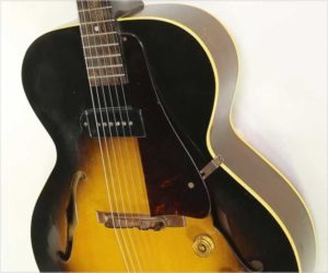 ❌ Sold ❌  Gibson ES-125 Archtop Electric Sunburst, 1953