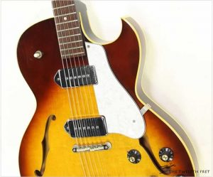 Gibson ES125TDC Thinline Archtop Electric Sunburst, 1969 - The Twelfth Fret