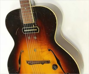 ❌SOLD❌  Gibson ES 150 Archtop Electric Sunburst, 1939