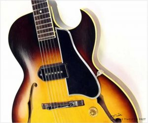 Gibson ES225T Thinline Archtop Electric Sunburst, 1958 -The Twelfth Fret
