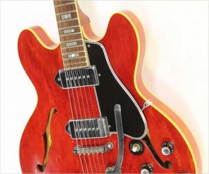 ❌SOLD❌ Gibson ES330TD Thinline Cherry, 1966
