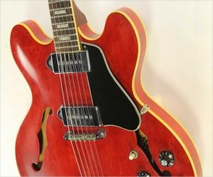 No Longer Available - Gibson ES330 Thinline Archtop Cherry 1969