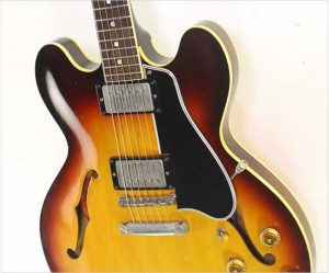 Gibson ES335 Dot Neck Thinline Electric Sunburst, 1959 - The Twelfth Fret