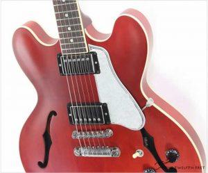 Gibson ES335 Satin Memphis Cherry, 2014 - The Twelfth Fret
