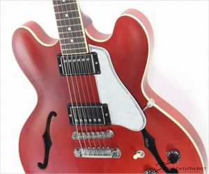 Gibson ES335 Satin Memphis Cherry, 2014