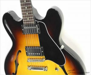 Gibson ES335 Studio Memphis Ginger Burst, 2014 - The Twelfth Fret